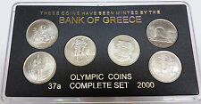 GREECE GREEK COINS FULL SET OF6X 500 DRX  2000 FOR OLYMPIC GAMES 2004  (BU) **