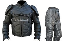 Classyak Batman Dark Knight Rises Real Leather Motorcycle Leather Suit, Xs-5xl