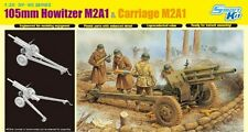 DRAGON 6499 - 1/35 U.S. 105mm HOWITZER M2A1 & CARRIAGE M2A1 - NEU
