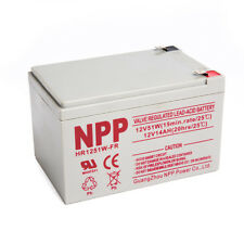 NPP HR1251W 12V 51W (15 mins) 14 Amp 14Ah High Rate Rechargeable UPS Battery F2