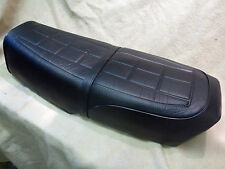 "SUZUKI GT250 X7 SEAT COVER and STRAP "" TOTAL UPGRADE HIGH DEFINITION PATTERN"""