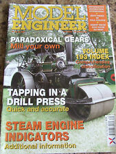 MODEL ENGINEER MAGAZINE JAN/FEB 2009 PARADOXICAL GEARS TAPPING A DRILL PRESS