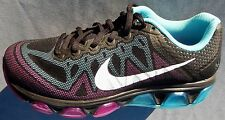 NEW NIKE AIR MAX TAILWIND 7 WOMENS SIZE 6 BLACK WHITE PURPLE BLUE 683635-004