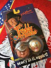 Vintage LJN Freddy Krueger And Victim Spitballs Horror Toy Madballs