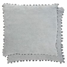 Clayre & Eef Pillow Cover Cushion Grey Cottage Nostalgia Shabby 45 45cm