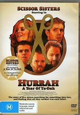 SCISSOR SISTERS-Hurrah-A Year Of Ta-Dah-DVD + CD-Region Free-Brand New