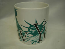 STARBUCKS NEW YORK STATUE of LIBERTY CITY MUG 20oz 1994 NEW