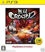Used PS3 Musou OROCHI 2  SONY PLAYSTATION 3 JAPAN JAPANESE IMPORT