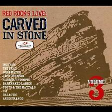 CD Various Artists Red Rocks Live: Carved in Stone 3