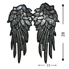 Fashion Wings Fabric Patches Stickers Clothes Decoration Diy Accessories