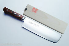 "VG-1 Gold Steel Nakiri Vegetable 6.5"" Japanese  Sushi chef knife YOSHIHIRO"