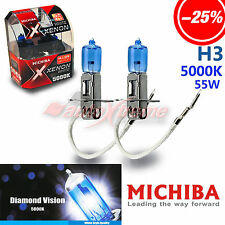 MICHIBA H3 12V 5000K 55W Xenon Super WHITE Headlight Bulb for BMW Front Fog Lamp