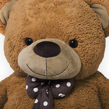 Big Brown Teddy Bear Christmas Gift Giant Extra Large Huge Plush Cuddly Polar XL