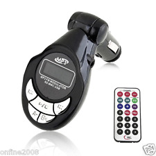 Wireless FM Transmitter Modulator LCD MP3 Player Auto Car Kit USB Charger SD MM