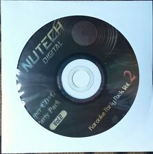 NUTECH KARAOKE #2 SCDG 1234 SONGS COUNTRY ROCK OLDIES POP MULTIPLEX *2016 SALE*