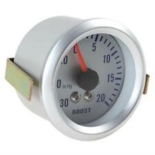 """52mm DC12V 0.3A 2"""" 52mm 0~30in.Hg / 0~20PSI Auto Car Turbo Boost Gauge Meter"""