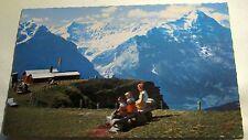 Switzerland Grindelwald First Schreckhorner und Eiger 8075 Steinhauer - posted 1