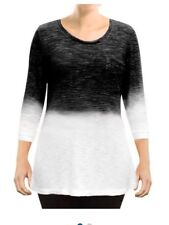 Zobha Dip Dye Top Color BlackMSRP $ 88 - Small