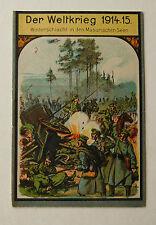 Kleine Kriegsbibliothek Der WK 1914/15 Winterschlacht in den Masurischen Seen