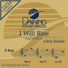 Chris Tomlin - I Will Rise _ Accompaniment CD New