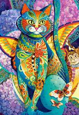 Puzzle Feline Fiesta, 1500 Teile, 30% kleinere Puzzleteile, Katze, Castorland