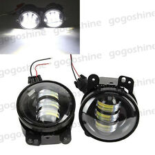 """2x CREE LED 60W 4"""" Driving Fog Lights White for Dodge Magnum Journey Charger"""