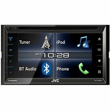 "JVC 6.8"" TouchScreen CD/DVD Car Player Bluetooth USB/SD Aux Receiver 