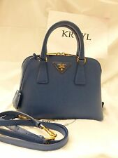 NEW Prada Saffiano Lux Promenade Satchel Shoulder Bag BL0838, $1780