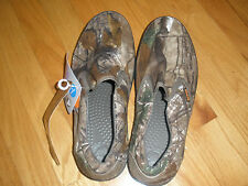 Mens 8 or Womens 10 CROCS Realtree AP Hover Slip On Camouflage Hunting Shoe