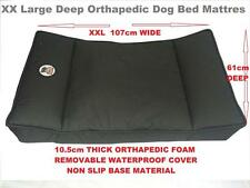 """Millies"" XXLarge Orthopaedic Dog Bed/Mattress. Thick High Density Ortho Foam"