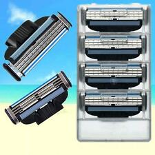 4 Blades For Gillette MACH 3 Razor Shaving Shaver Trimmer Refills Cartridges New