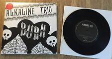 """ALKALINE TRIO - Burn 7"""" Part1 LIMITED VINYL Blink 182"""
