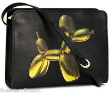 JEFF KOONS x H&M 'Balloon Dog Yellow' Limited Edition Handbag Purse Clutch *NEW*