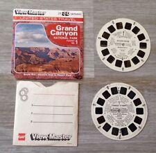 VTG 1984 View-Master 3D Tour Grand Canyon Packet no.1 (3 Reels) 21 Pics w/Bonus