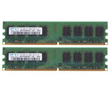 Samsung 4GB 2X 2GB DDR2 800MHz PC2-6400U 2RX8 DIMM For intel RAM Desktop memory