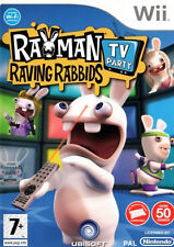 RAYMAN RAVING RABBIDS: TV Party NINTENDO WII PAL COMPLETO