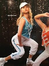 IN STOCK Turquoise Sequin Jazz Modern Street Dance Costume Adult Small