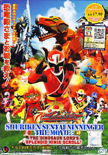 Shuriken Sentai Ninninger The Movie : The Dinosaur Lord's Splendid Ninja Scroll!