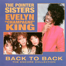 """Back To Back by The Pointer Sisters; Evelyn """" Champagne"""" King"""