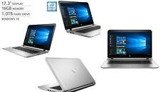 "17.3"" LAPTOP HP ENVY 17T I7-6500U 3.1GHZ 16GB 1TB 2GB GRAPHICS WINDOWS 10"