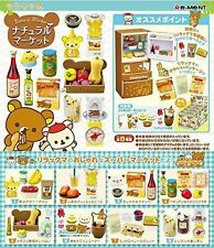 Rilakkuma Natural Market 8 Set Re Ment Box San X Miniature Japan Full New Refrig