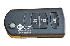 Mazda 2 3 5 6 RX8 MX5 3-tasten fernbedienung klappschlüssel Mitsubishi SKE