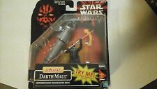 STAR WARS DARTH MAUL DELUXE 1998 EP 1 MOC
