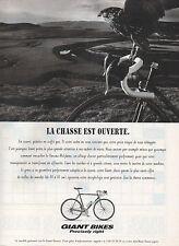 Publicité 1995  Vélo  GIANT BIKES