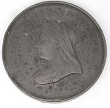 RARE EXTRA LARGE 1897 QUEEN VICTORIA DIAMOND JUBILEE MEDALLION 68mm