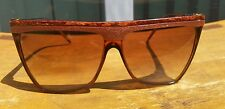 LAURA BIAGIOTTI Vintage Sunglasses Made in Italy 25 301L Brown gold Carmel