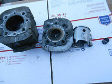 Kawasaki- Sno Jet- Yamaha 440 motor: MAG side JUG-HEAD-PISTON-PIN-BEARING