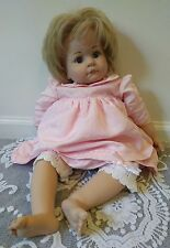 Gotz Baby Doll Blonde Blue Eyes 2007 Limited Edition 665/764 with Pink Outfit