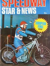 Speedway Star and News 21st August 1971