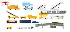 Herpa Wings 1:500 519472 Airport accessories I -19 parts